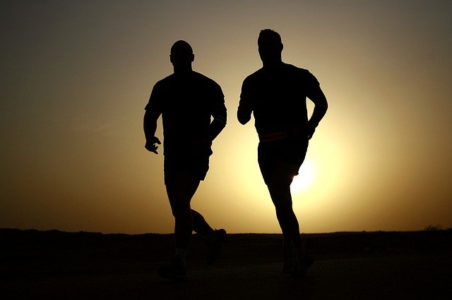 Runner_Sunset